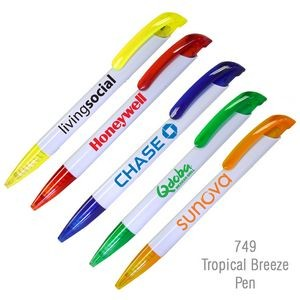 """Tropical Breeze"" Fashionable Ballpoint Pen"